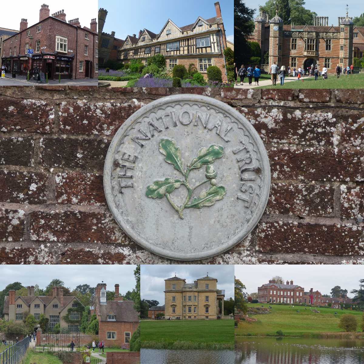 National Trust properties around the West Midlands region